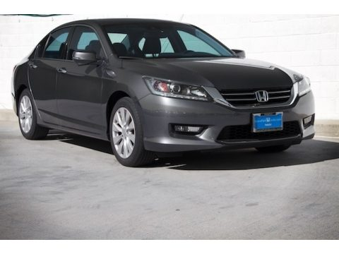 Modern Steel Metallic Honda Accord EX-L V6 Sedan.  Click to enlarge.