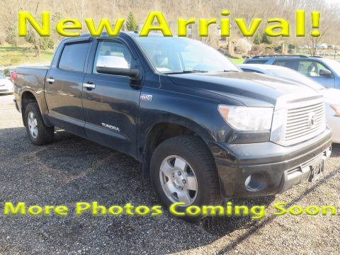 Black Toyota Tundra Limited CrewMax 4x4.  Click to enlarge.