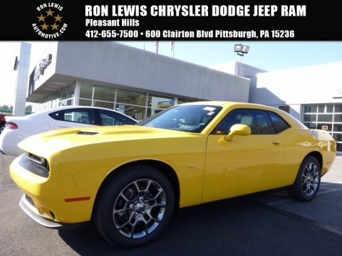 YellowJacket Dodge Challenger GT AWD.  Click to enlarge.