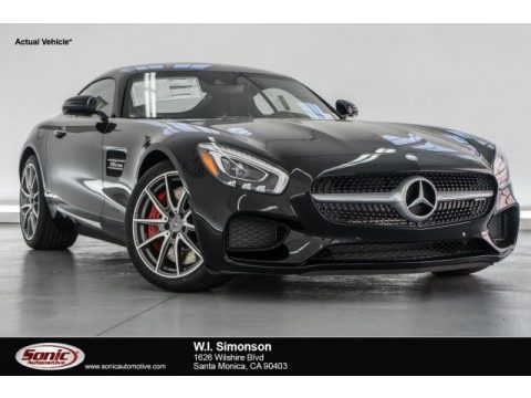 Black Mercedes-Benz AMG GT S Coupe.  Click to enlarge.