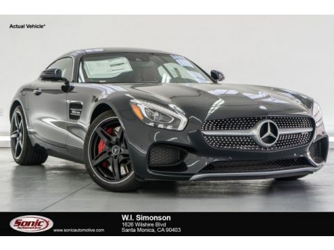 Magnetite Black Metallic Mercedes-Benz AMG GT S Coupe.  Click to enlarge.