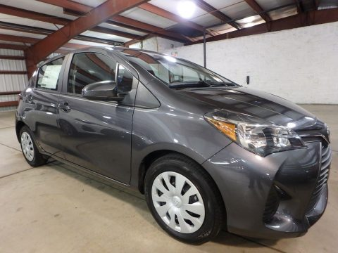 Magnetic Gray Metallic Toyota Yaris 5-Door L.  Click to enlarge.
