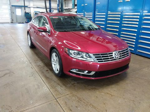 Fortana Red Metallic Volkswagen CC 2.0T Sport.  Click to enlarge.