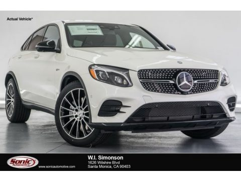 designo Diamond White Metallic Mercedes-Benz GLC 43 AMG 4Matic.  Click to enlarge.
