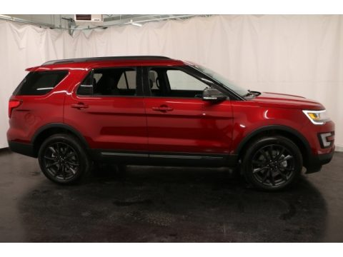 Ruby Red Ford Explorer XLT 4WD.  Click to enlarge.