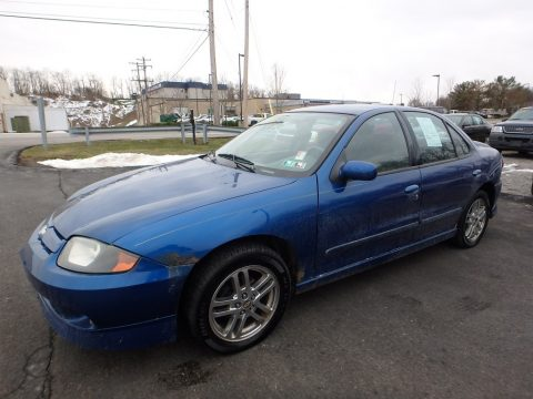 Arrival Blue Metallic Chevrolet Cavalier LS Sport Sedan.  Click to enlarge.