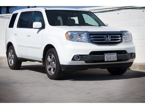 Taffeta White Honda Pilot EX-L.  Click to enlarge.