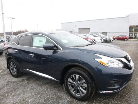 Arctic Blue Nissan Murano SL AWD.  Click to enlarge.