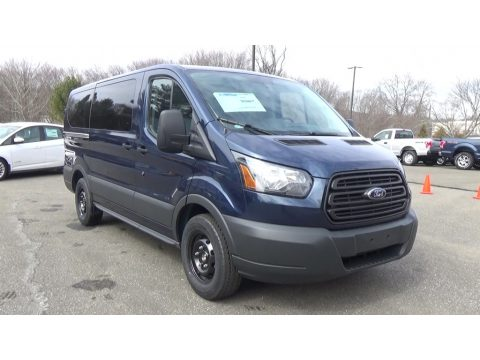 Blue Jeans Ford Transit Wagon XL.  Click to enlarge.