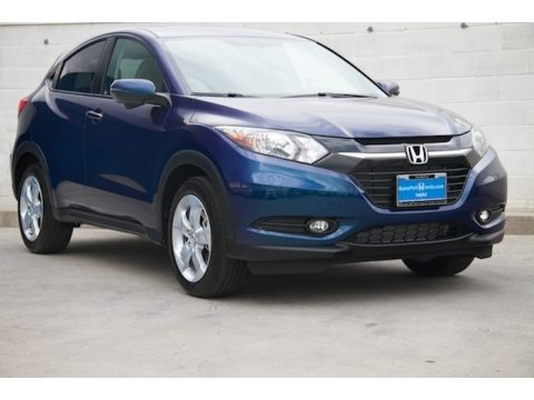Deep Ocean Pearl Honda HR-V EX.  Click to enlarge.