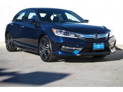 Obsidian Blue Pearl Honda Accord Sport Special Edition Sedan.  Click to enlarge.