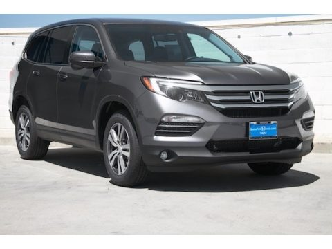 Modern Steel Metallic Honda Pilot EX-L w/Navigation.  Click to enlarge.