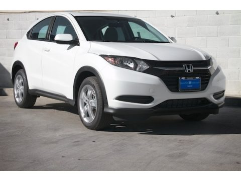 White Orchid Pearl Honda HR-V LX.  Click to enlarge.