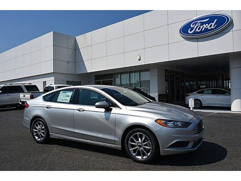 Ingot Silver Ford Fusion SE.  Click to enlarge.
