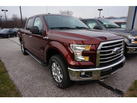 Bronze Fire Ford F150 XLT SuperCrew 4x4.  Click to enlarge.