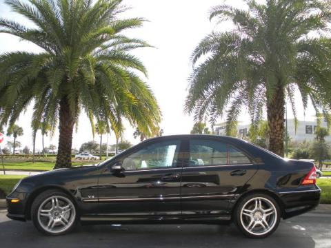 Used 2005 mercedes benz c 55 amg sedan for sale stock for Mercedes benz dealers south florida