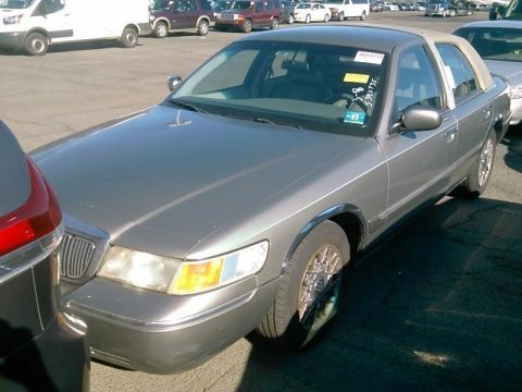 Spruce Green Metallic Mercury Grand Marquis GS.  Click to enlarge.
