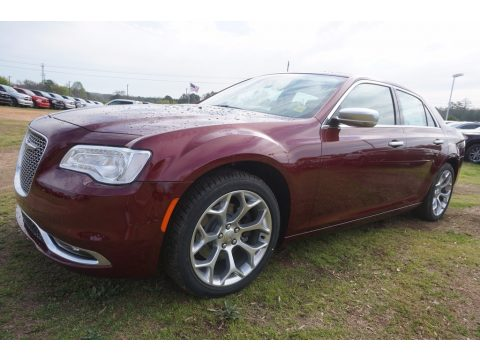 Velvet Red Chrysler 300 C Platinum.  Click to enlarge.