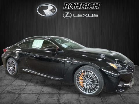 Obsidian Lexus RC F.  Click to enlarge.