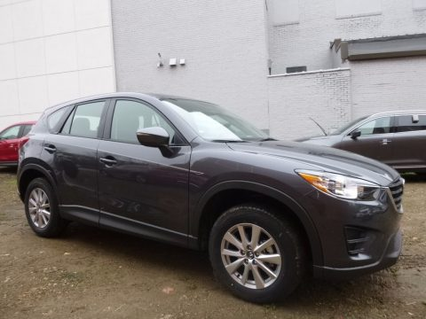 Meteor Gray Mica Mazda CX-5 Sport AWD.  Click to enlarge.