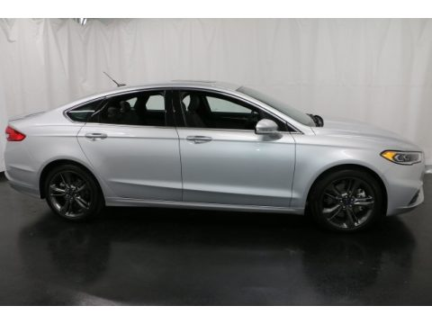 Ingot Silver Ford Fusion Sport AWD.  Click to enlarge.