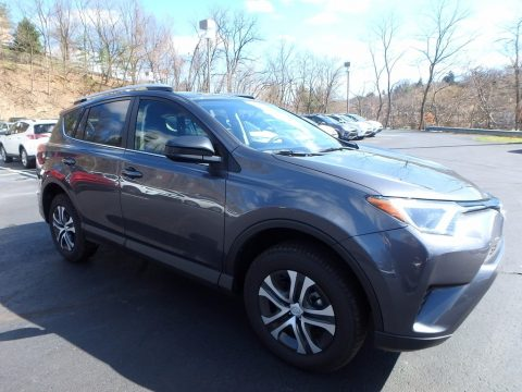 Magnetic Gray Metallic Toyota RAV4 LE.  Click to enlarge.