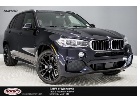 Carbon Black Metallic BMW X5 xDrive35d.  Click to enlarge.