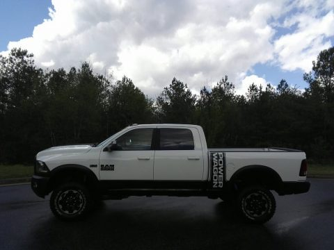 Bright White Ram 2500 Power Wagon Crew Cab 4x4.  Click to enlarge.