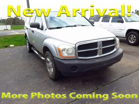 Brilliant Silver Metallic Dodge Durango ST 4x4.  Click to enlarge.