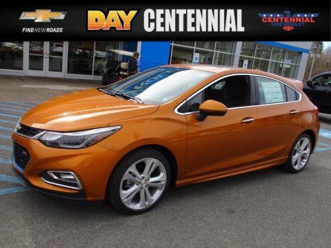 Orange Burst Metallic Chevrolet Cruze Premier.  Click to enlarge.