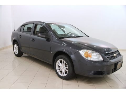 Slate Metallic Chevrolet Cobalt LS Sedan.  Click to enlarge.