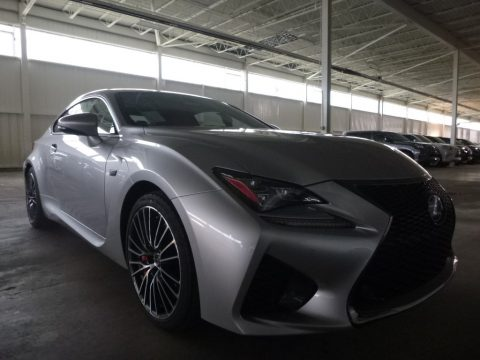 Silver Lining Metallic Lexus RC F.  Click to enlarge.