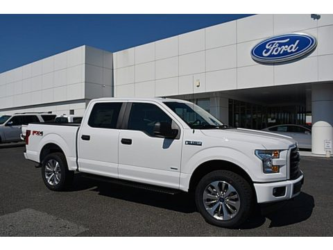 Oxford White Ford F150 XL SuperCrew 4x4.  Click to enlarge.