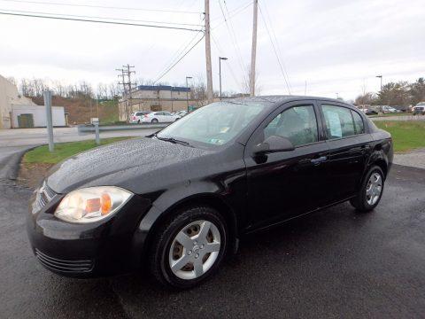 Black Chevrolet Cobalt LS Sedan.  Click to enlarge.
