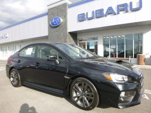 Crystal Black Silica Subaru WRX Limited.  Click to enlarge.