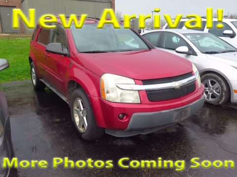 Salsa Red Metallic Chevrolet Equinox LT AWD.  Click to enlarge.