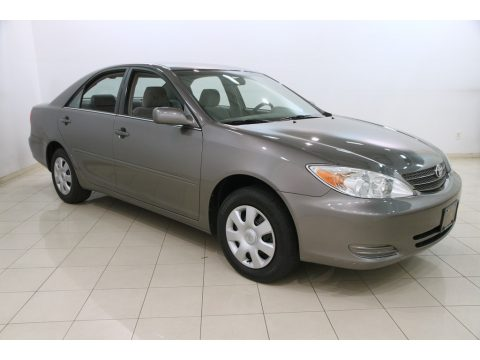 Phantom Gray Pearl Toyota Camry LE.  Click to enlarge.
