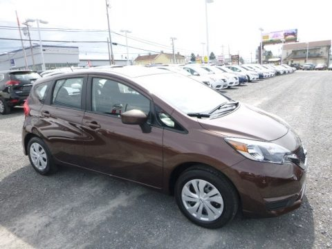 Cocoa Embers Nissan Versa Note SV.  Click to enlarge.