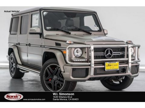 designo Manufaktur Sintered Bronze Magno (Matte) Mercedes-Benz G 63 AMG.  Click to enlarge.