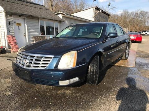 Blue Chip Metallic Cadillac DTS Luxury.  Click to enlarge.