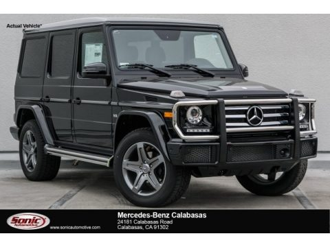 Black Mercedes-Benz G 550.  Click to enlarge.