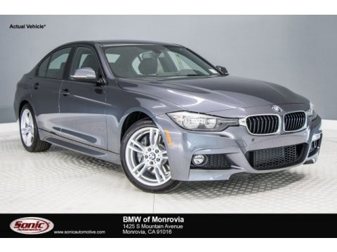 Mineral Grey Metallic BMW 3 Series 330i Sedan.  Click to enlarge.