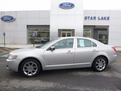 Silver Birch Metallic Lincoln MKZ AWD Sedan.  Click to enlarge.