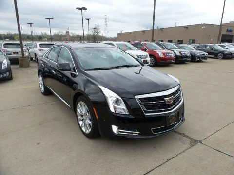 Black Raven Cadillac XTS Luxury Sedan.  Click to enlarge.