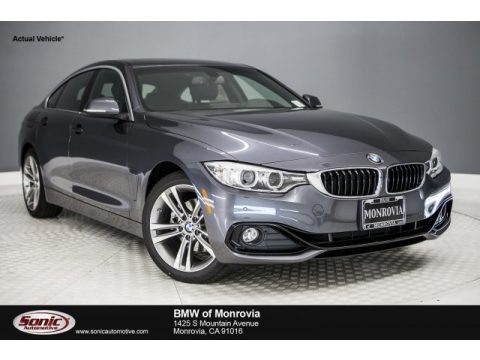 Mineral Grey Metallic BMW 4 Series 430i Gran Coupe.  Click to enlarge.