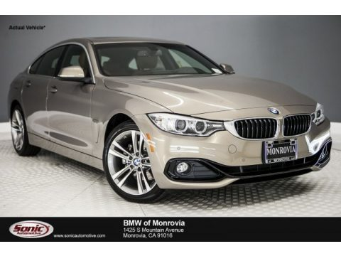 Kalahari Beige Metallic BMW 4 Series 430i Gran Coupe.  Click to enlarge.