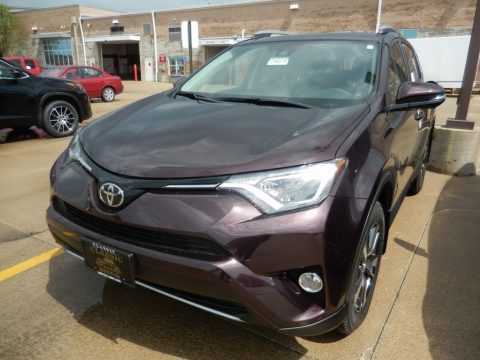 Black Current Metallic Toyota RAV4 XLE.  Click to enlarge.