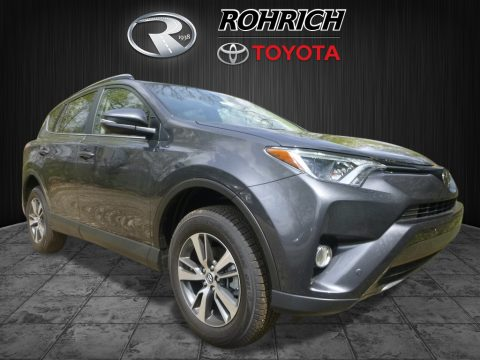 Magnetic Gray Metallic Toyota RAV4 XLE.  Click to enlarge.
