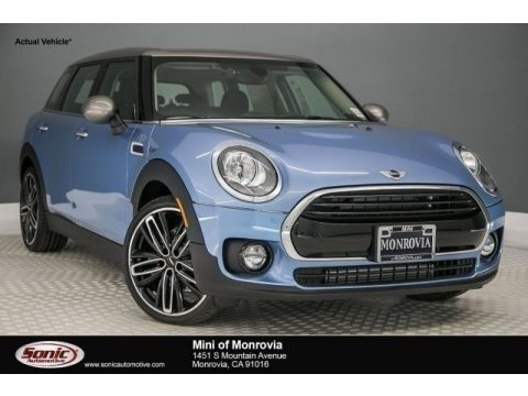 Digital Blue Metallic Mini Clubman Cooper.  Click to enlarge.