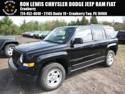 Black Jeep Patriot Sport 4x4.  Click to enlarge.